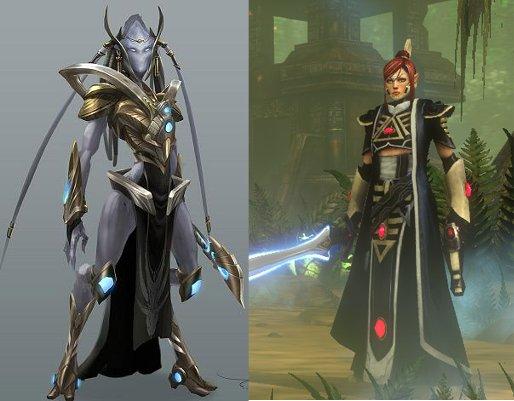 Eldar vs Protoss
