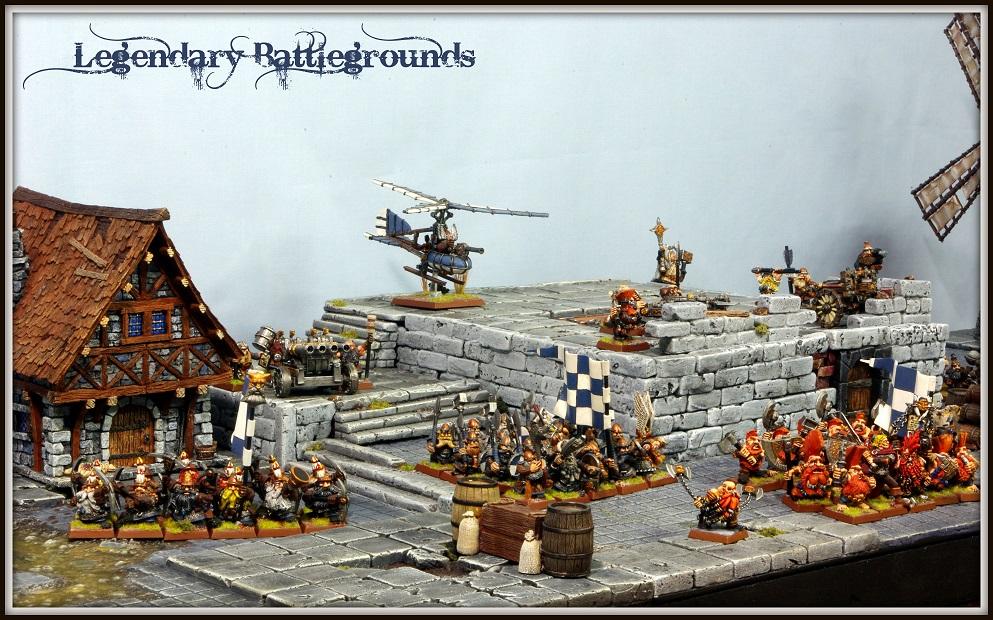 Legendary Battlegrounds Colina urbana