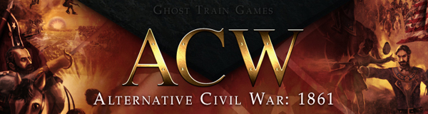 Ghost Train American Civil War ACW banner