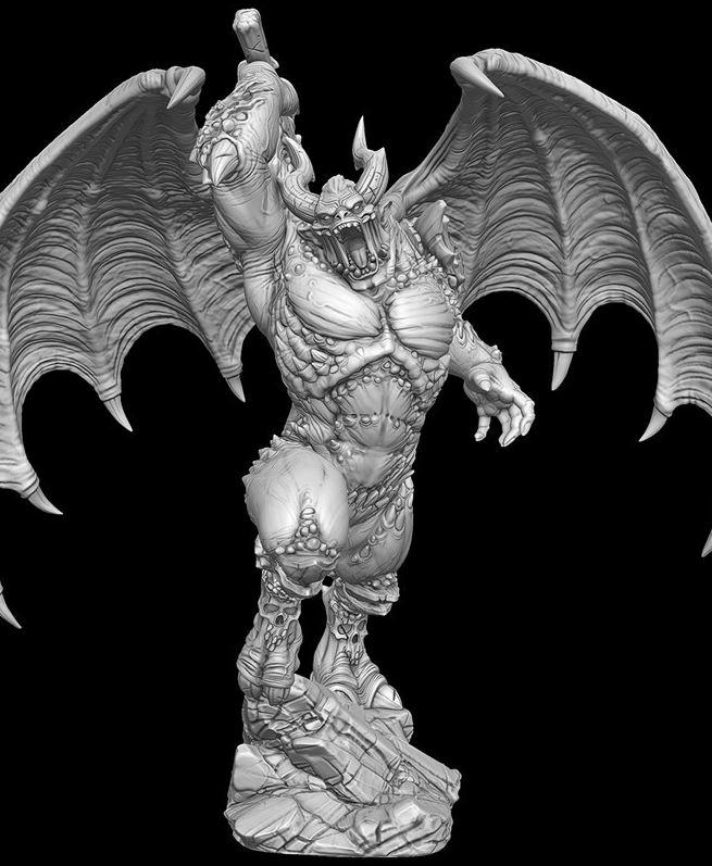 Creature Caster Warrior Demon