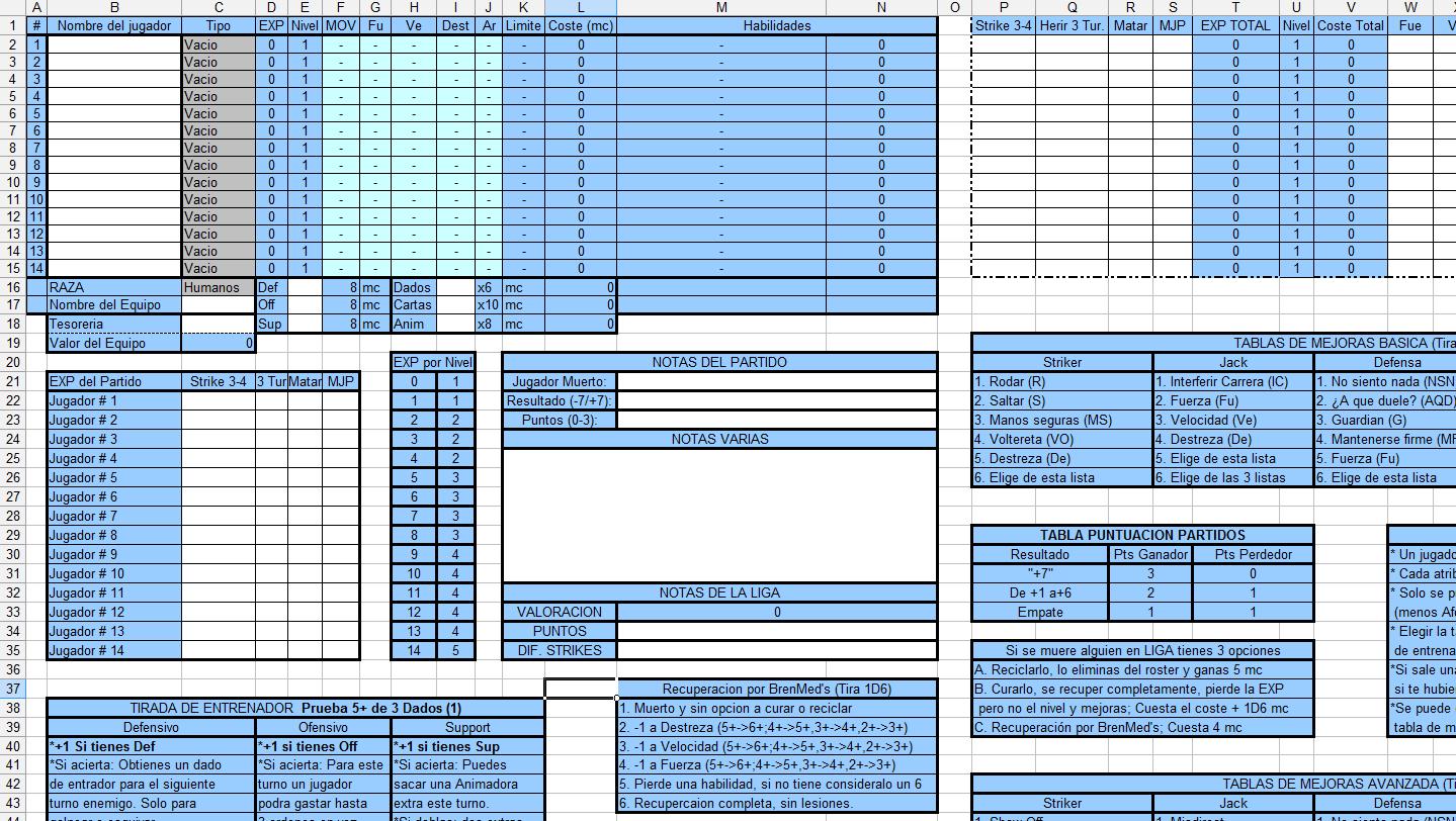 Vista previa Roster