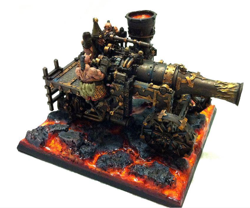 Cañon de Magma (Magma Cannon)