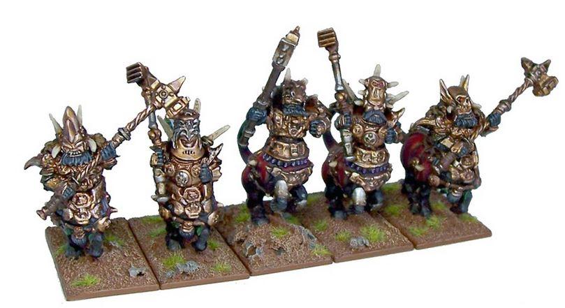 Mantic Abyssal Dwarf Halfbreeds