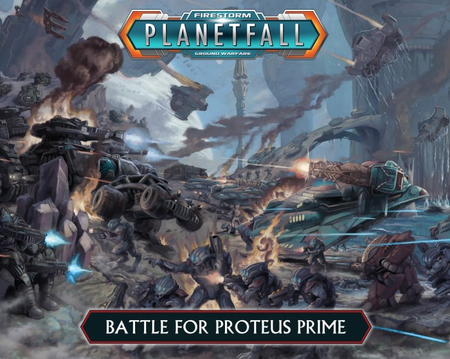 Firestorm Planetfall Battle for proteus prime