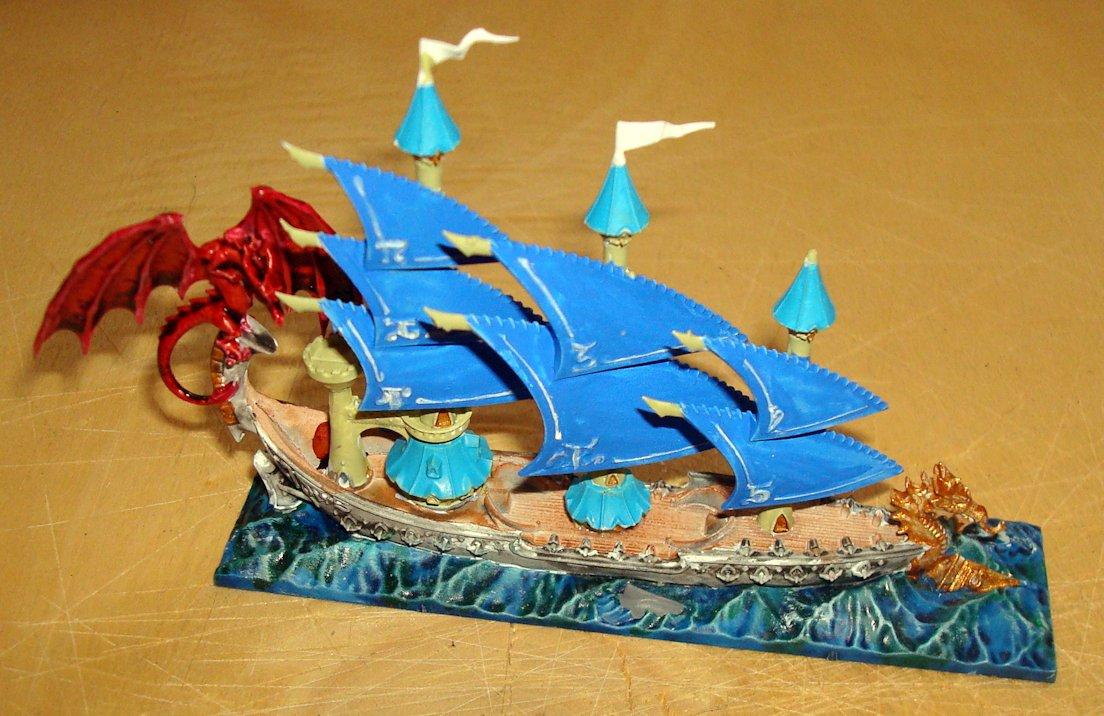 Namarie Dreadfleet barco elfos