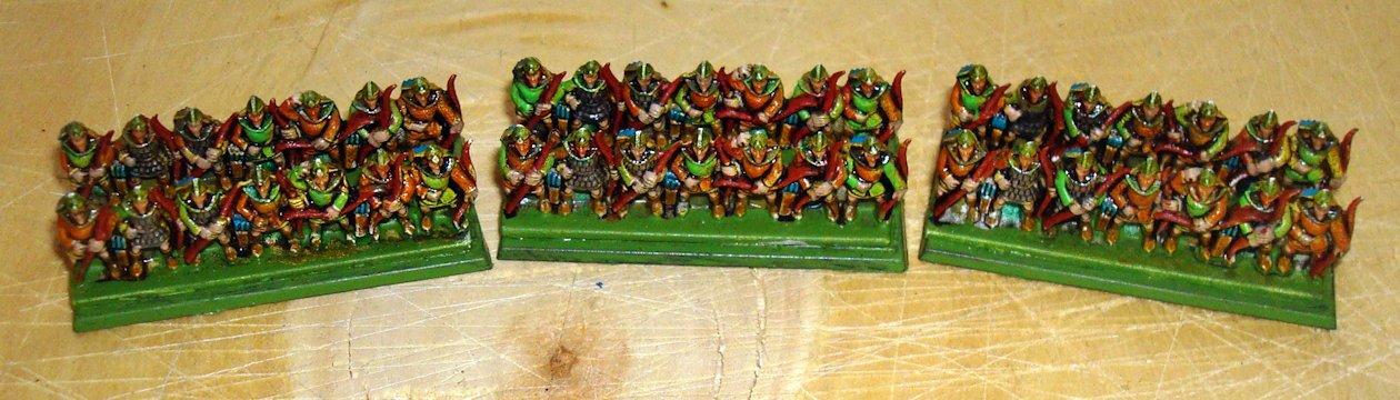 Namarie Warmaster silvanos arqueros