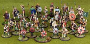 anglo saxon warband