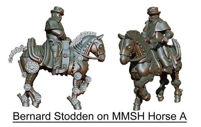 Copper Mine Steam Horses