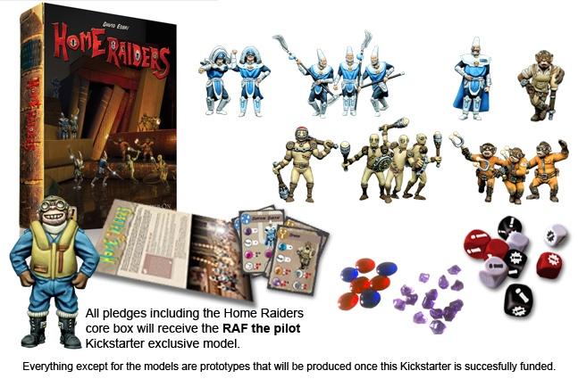 home raiders caja