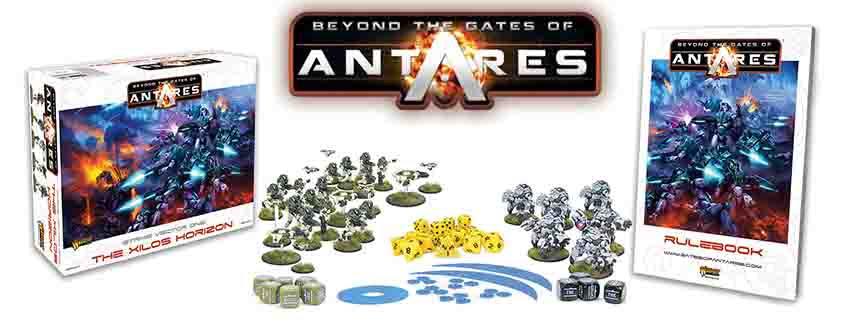 Beyond the Gates of Antares caja