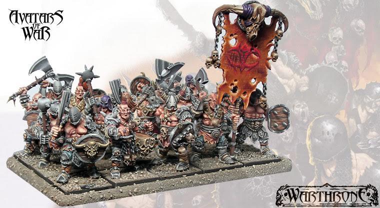 Avatars of War Saqueadores del Apocalipsis arma mano escudo