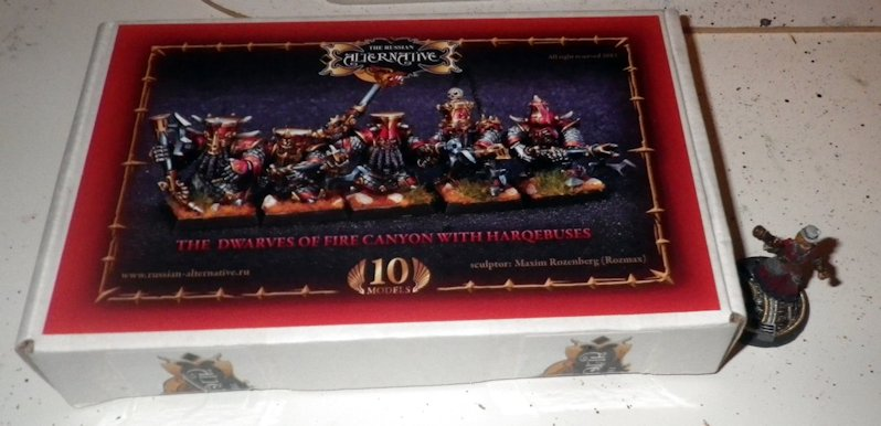 Unboxing Russian Alternative Chaos Dwarves Arquebus 2