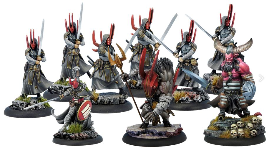 Wrath of Kings Starter Honor and Treachery Nasiers