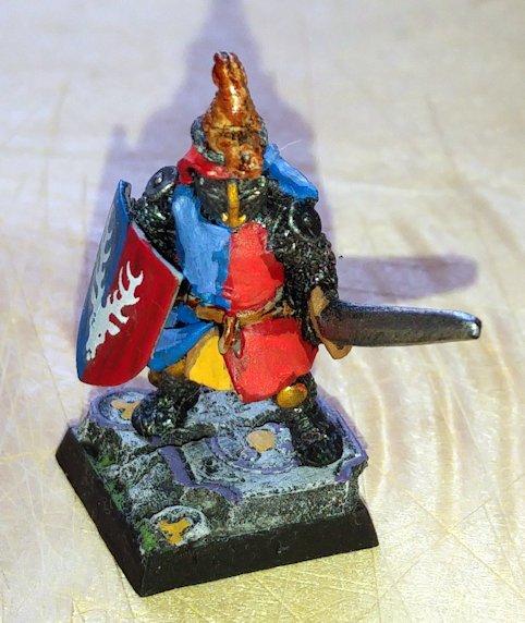 Bretonnian Foot Knight Sword 7 (Alan & Michael Perry)