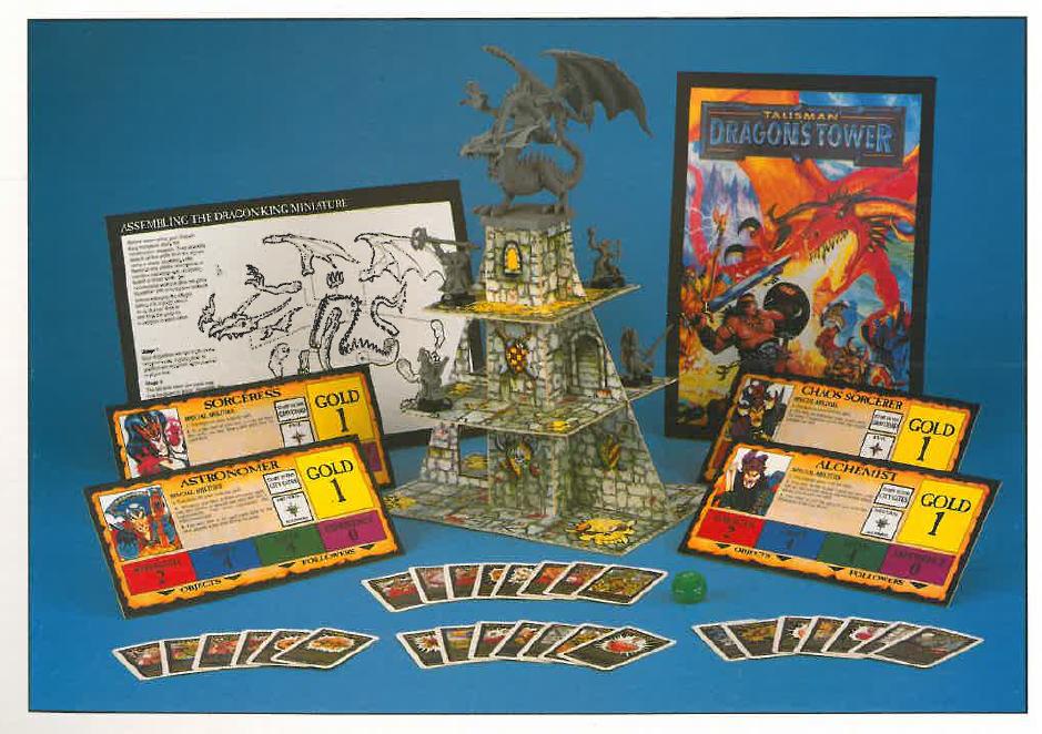 Talisman Dragon's Tower