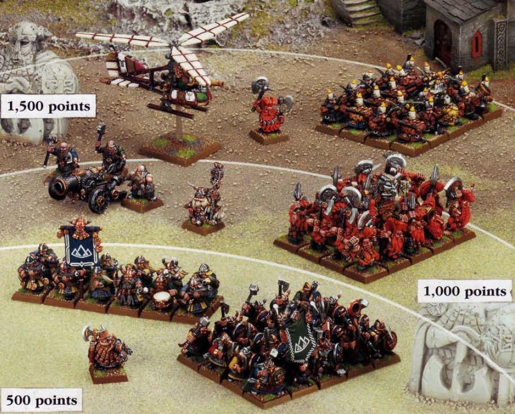 Esto salía tal cual en el reglamento de 7ª como ejemplo de cómo coleccionar un ejército por tramos
